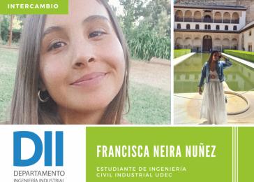 Alumna del DII realiza intercambio en la Universidad de Sevilla, España